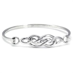 11MM 925 Sterling Silver CELTIC KNOT Bangle