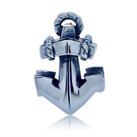925 Sterling Silver ANCHOR European Charm Bead (Fits Pandora Chamilia)