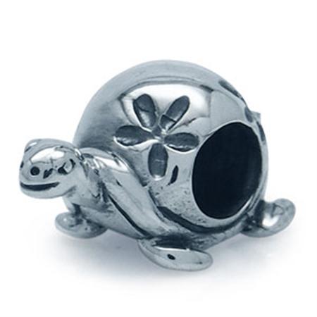 AUTH Nagara 925 Sterling Silver TURTLE European Charm Bead (Fits Pandora Chamilia)