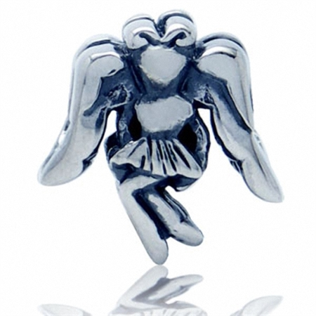 925 Sterling Silver ANGEL European Charm Bead (Fits Pandora Chamilia)