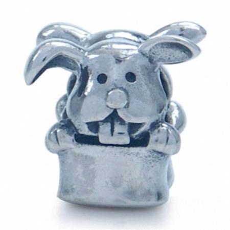 925 Sterling Silver Magician Hat European Charm Bead (Fits Pandora Chamilia)