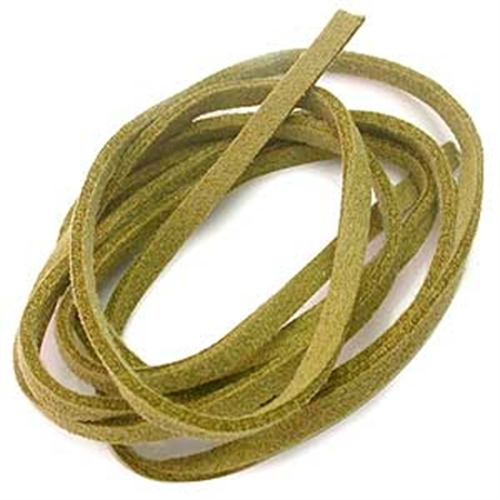 Green Colored Imitation Leather Cord Bracelet / Necklace