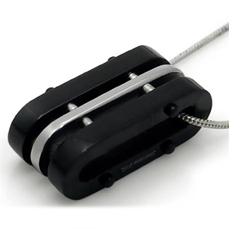 Men's Black 316L Stainless Steel MODERN Pendant