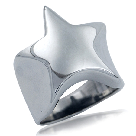 BOLD 925 Sterling Silver STAR Ring