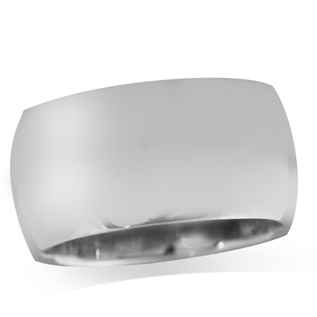 925 Sterling Silver Contemporary Wind Front Band Ring