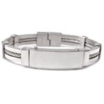 11MM Costume Jewelry Stainless Steel Bangle
