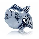 925 Sterling Silver FISH European ...