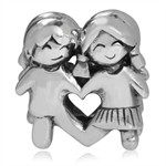 925 Sterling Silver BOY & GIRL Eur...