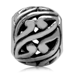 925 Sterling Silver Paisley Swirl ...
