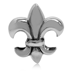 925 Sterling Silver Fleur De Lis E...