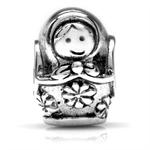 925 Sterling Silver Matryoshka Rus...