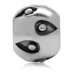 925 Sterling Silver Drops & Dots P...
