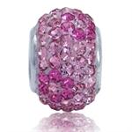 AUTH Nagara Pink Crystal Sterling ...