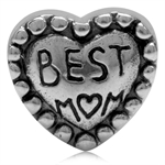 925 Sterling Silver BEST MOM In HE...