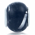 Black & White Murano Glass 925 Ste...