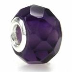 Amethyst Murano Glass 925 Sterling...