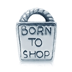 925 Sterling Silver BORN TO SHOP E...