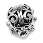 925 Sterling Silver Swirl Filigree...