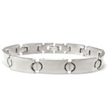 10MM Costume Jewelry Stainless Steel Tennis Bracelet