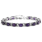 10.8ct. Natural African Amethyst W...