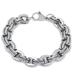 Men's Stainless Steel Double Chain Bracelet