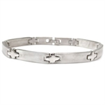 7MM Costume Jewelry Stainless Steel Tennis Bracelet