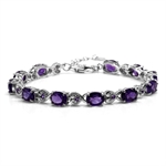 12.65ct. Natural African Amethyst ...