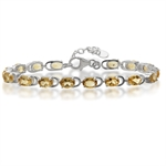 11.36ct. Natural Citrine 925 Sterl...