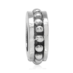 925 Sterling Silver Spacer Threade...
