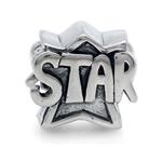 925 Sterling Silver STAR Threaded ...