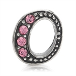 Pink Crystal 925 Sterling Silver L...