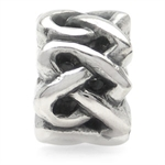 925 Sterling Silver Celtic Knot He...