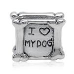925 Sterling Silver I LOVE MY DOG ...