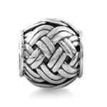 925 Sterling Silver Weave Pattern ...