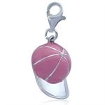Nagara Pink Baseball Cap 925 Sterl...