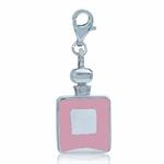 Nagara Pink Enamel Perfume Bottle ...
