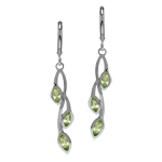 Natural Peridot 925 Sterling Silve...