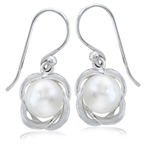 8MM Cultured White Pearl 925 Sterl...