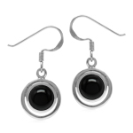 Natural Black Onyx Round 7 mm 925 ...