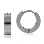 4x12MM 316L Stainless Steel Huggie Earrings