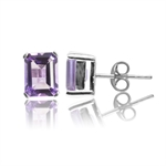 2.98ct. Natural Amethyst 925 Sterl...