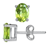 1.74ct. Natural Peridot 925 Sterli...