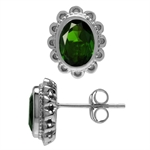 1.52ct. Green Chrome Diopside Whit...
