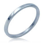 2MM 925 Sterling Silver Band Weddi...