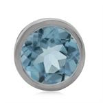 2.45ct. Genuine Blue Topaz 925 Ste...