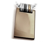 Mens Copper Tone Stainless Steel Pendant by Inori