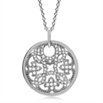 CZ White Gold Plated 925 Sterling ...