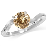 Champagne CZ 925 Sterling Silver S...