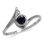 Petite Natural Black Sapphire 925 ...