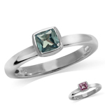 Cushion Cut Simulated Color Change...